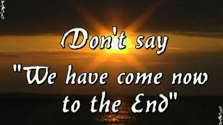 Lord of the Rings - Into the West - Lyrics