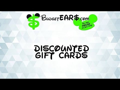 Purchasing Discounted Disney Gift Cards