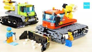 レゴ シティ スキー場の除雪車 60222  火山調査用クローラー / LEGO City Great Vehicles Snow Groomer