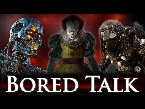 Stephen King's IT - Reviewed (Spoiler Free) - Terminator, Predator, Hardest Video Game? - Bored Talk