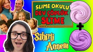 Sihirli Annem Karakterlerinden Ne Çıkarsa Çöplük Slime Challenge Dev Çöplük Slaym Bidünya Oyuncak 🦄
