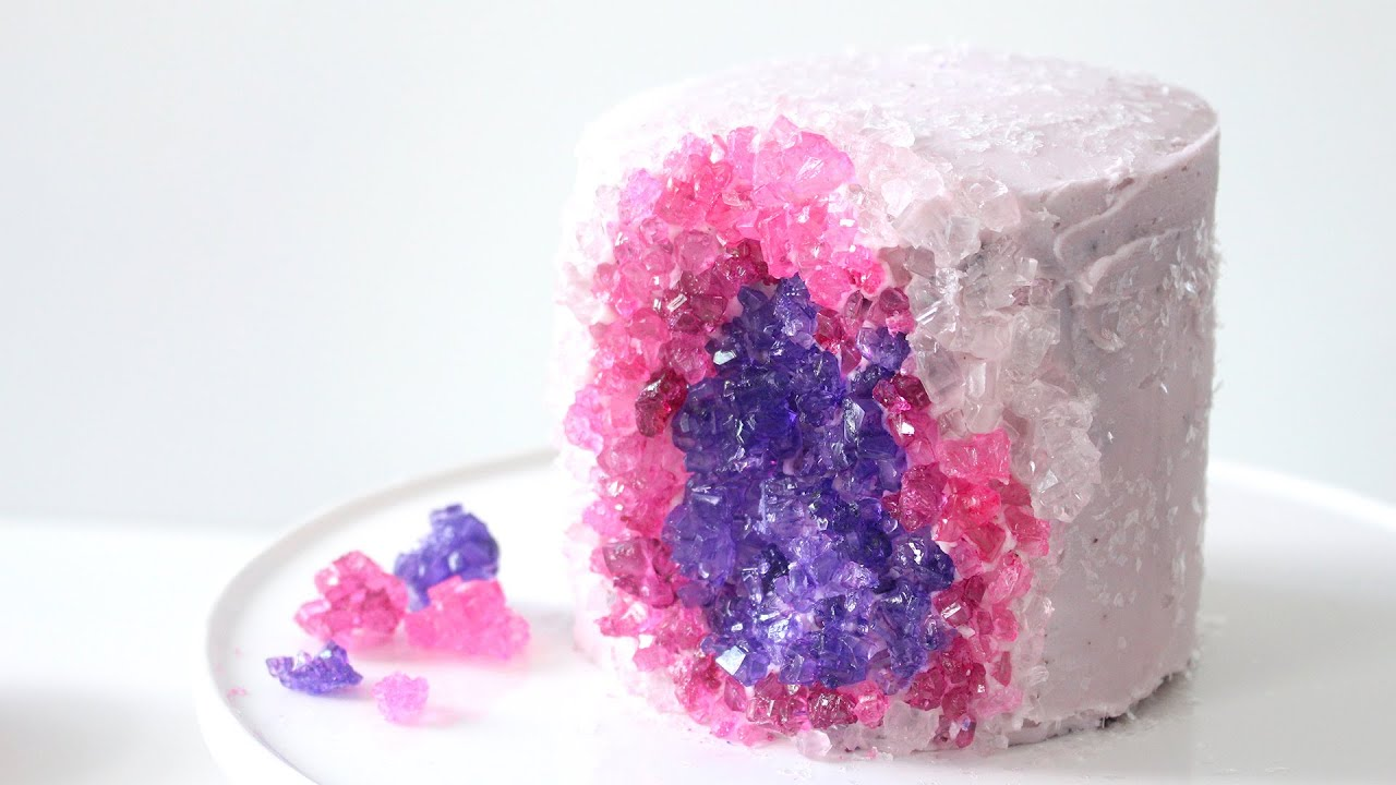 Crystal Candy Cake