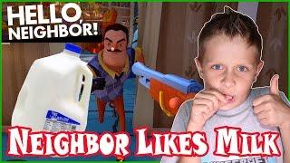 My Neighbor Likes Milk so Much!
