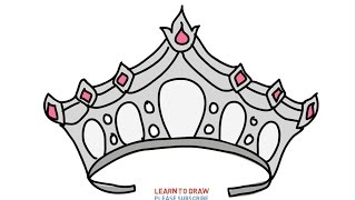 Easy Step For Kids How To Draw a Queen