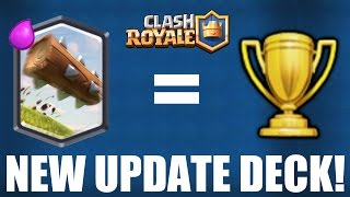 CLASH ROYALE | BEST NEW UPDATE DECK! [September 2016] | The Log is a BEAST!