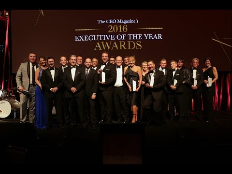 The CEO Magazine - Executive of the Year Awards 2016