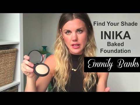 INIKA How-to Find Your Shade Mineral Foundation