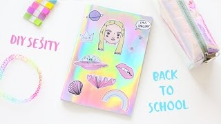 DIY sešity / BACK TO SCHOOL - NotSoFunnyAny