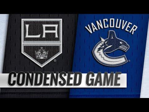 03/28/19 Condensed Game: Kings @ Canucks
