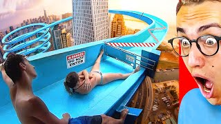 Top 10 MOST INSANE BANNED Water slides YOU CAN'T GO ON ANYMORE!