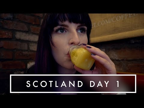 Drinking Cayenne Pepper Juice & Bono? | Scotland Day 1 | Kate Stark