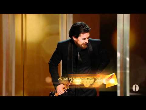 Christian Bale winning Best Supporting Actor en streaming
