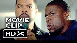 Ride Along Movie CLIP - Gun Range (2014) - Ice Cube, Kevin Hart Comedy HD