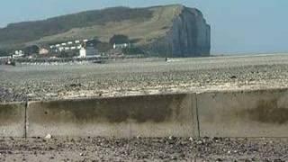 Visite du littoral à Criel-sur-Mer