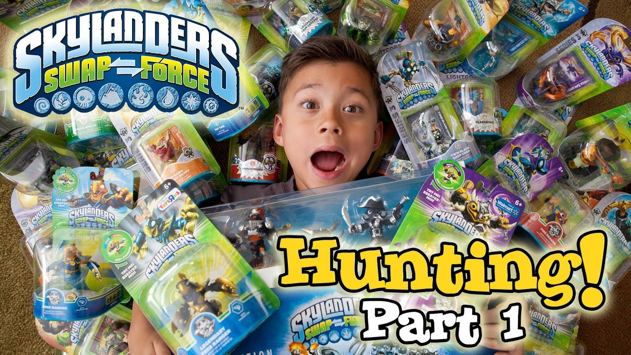 Skylanders Toys R Us : Skylanders swap force hunting part wave toys quot r