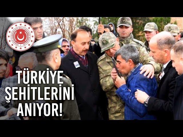 Türkiye Şehitlerini Anıyor - Piyade Er Mustafa (Balıkesir) ve Piyade Er Ahmet (Edirne)