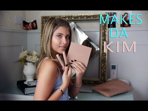 Testei: Makes da Kim Kardashian | Por Mafe...