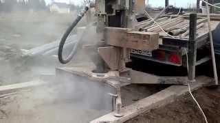 видео бурение скважин на известняк малогабаритной