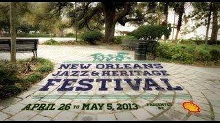 Official Jazz Fest 2013 Talent Announcement Video - 30 seconds