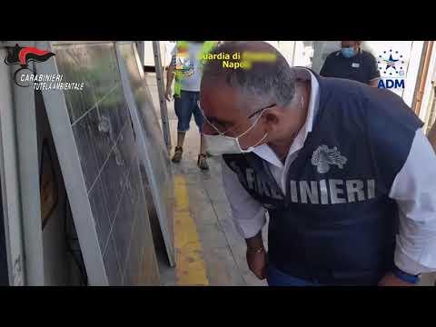 CC NOE Napoli sequestro pannelli fotovoltaici