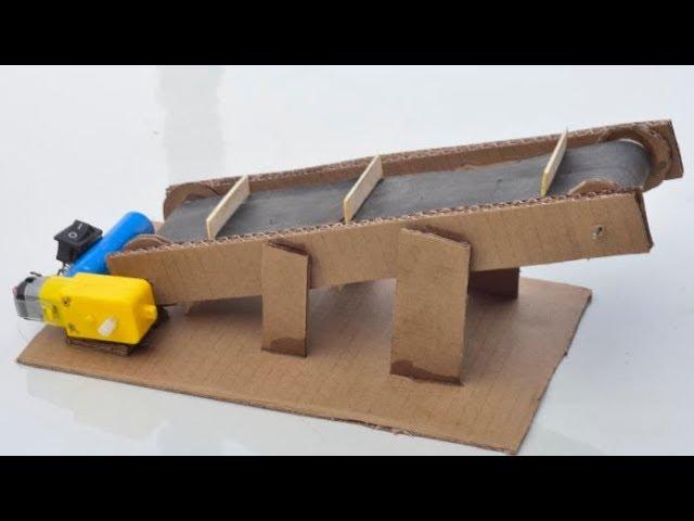Conveyor 60mm x 500mm Belt 24V School Projects Ideas