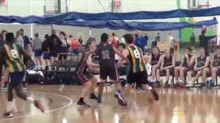 Matt Owies High School Basketball Highlights (Games 1-3) 2015