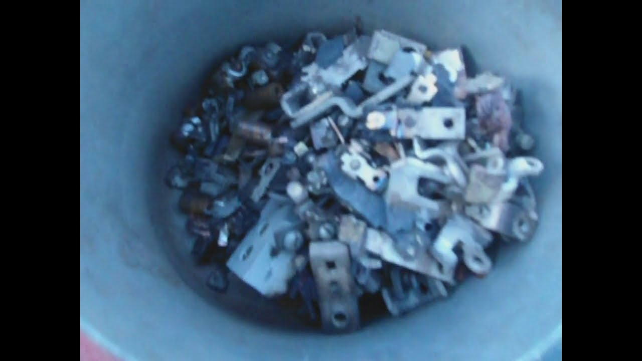 Как снять серебро с контактов в домашних условиях 470