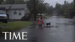 They Refused To Evacuate For Hurricane Florence, Now Hundreds Are Trapped & Calling For Help | TIME