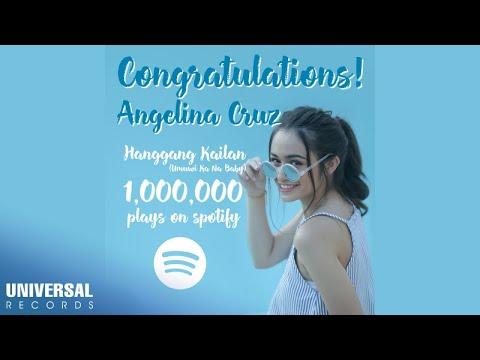 Angelina Cruz  Hanggang Kailan Umuwi Ka Na Ba Reaches 1 MILLION Plays on