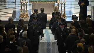 Emotional Farewell to Slain Jersey City Cop