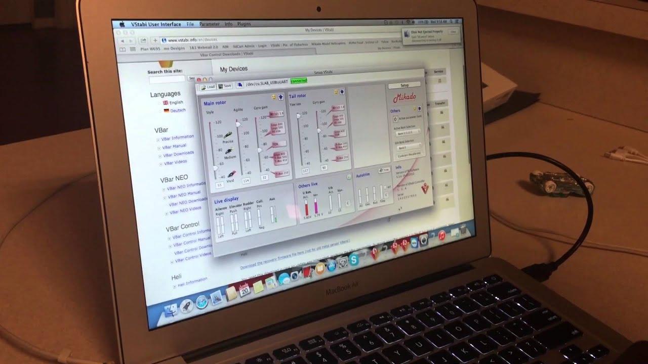 Mikado V BAR CONTROL Upgrading Existing V BAR's From V5 3 6 0 V BAR CONTROL  2