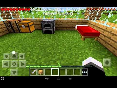 прохождение майнкрафт пе 0.12.1 билд 3 часть 1 Лачуга - Видео из Майнкрафт (Minecraft)