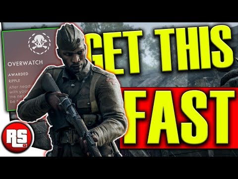 Ripple perk: How to unlock overwatch perk, (FAST!) - Bf1 Turning Tides Specializations