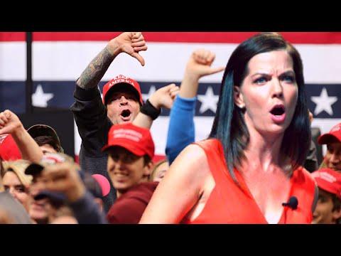 WATCH! Anti Trump RINO BOOED OFF STAGE at Trump Event!!!