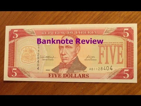 Liberia Banknote Review