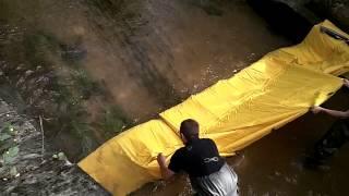 batardeau réserve deci rivière watergate sdis lot et garonne