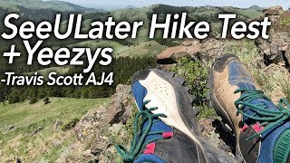 Hypebeast Hiking + Yeezy 500 COP + Travis Scott AJ4 Fail -North Fork Highwood and Lost Lake