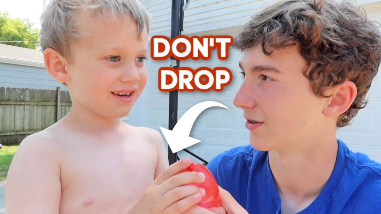 LAST TO DROP A WATER BALLOON WINS! | Match Up
