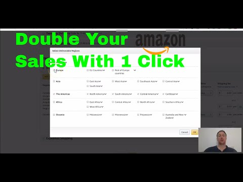 How To Enable International Shipping Amazon FBA Global Export Sellers Guide