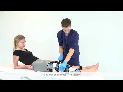 5e6fc91889 Rebound Post-op Knee – Fitting instruction - YouTube