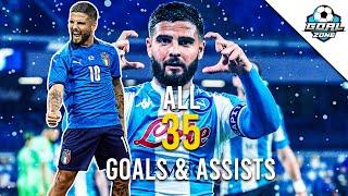 Lorenzo Insigne - All Goals \u0026 Assists 2020/21