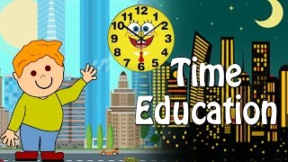 Time Education For Kids | Different Time Zones | Educational Videos For Kids