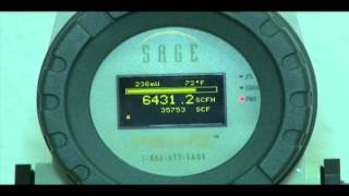 Thermal Mass Flow Meter | The Prime by Sage Metering | Natural Gas Flowmeter