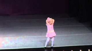 Rainbow Dance Competition - Paige 4 years old - Second Hand Rose