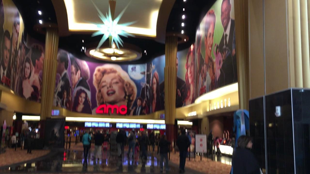Amc theater lobby youtube - Amc movie theater garden state plaza ...