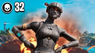 32 Kill Win in Fortnite Chapter 2! (Solo VS Squads)