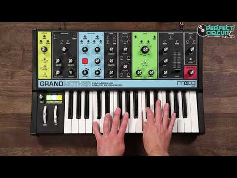 Moog Grandmother Semi-Modular Keyboard Synth