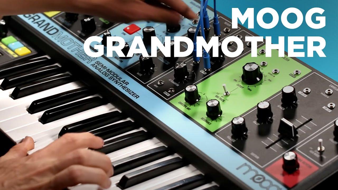 moog grandmother semi modular keyboard synth youtube. Black Bedroom Furniture Sets. Home Design Ideas