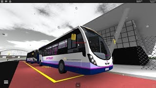 (Roblox) Canterbury EP1 Route 747 to Airport from Bus Station. (First Travel)
