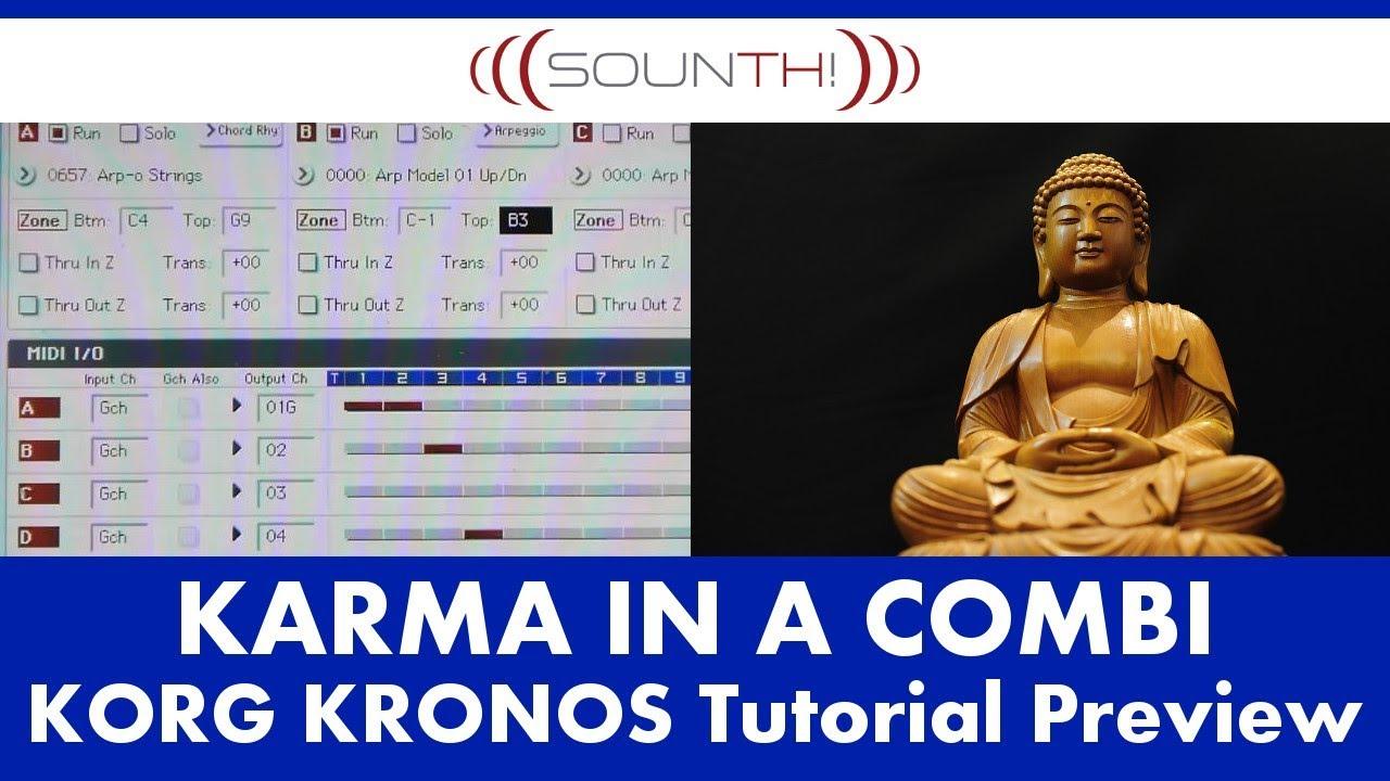 Korg karma tutorial 25 07 12 av david biel youtube.